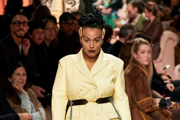FIRST TIME EVER: FENDI FEATURED PLUS SIZE MODELS ON THE RUNWAY