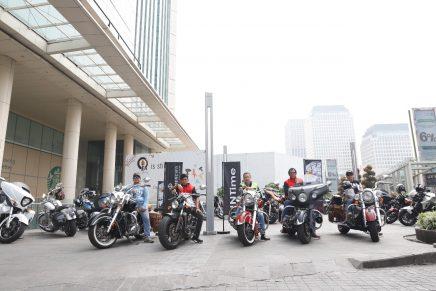 Baume & Mercier x Indian Motorcycle Sunday Morning Ride