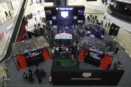 TAG Heuer Sports Hub Exhibition Jakarta, Indonesia